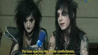 Entrevista exclusiva com o Black Veil Brides - Brasil !!