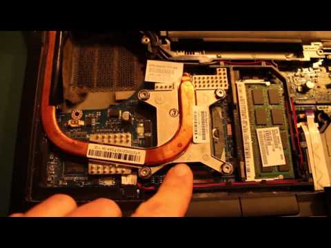 HP Elitebook 8440p Fan & Heat Sink Cleaning