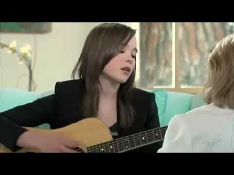Ellen Page  acoustic Anyone Else But You  JUNO