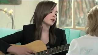 "Ellen Page - acoustic ""Anyone Else But You"" / JUNO"
