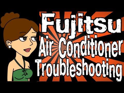 split system air conditioner wiring diagram dodge ram 2005 fujitsu troubleshooting youtube