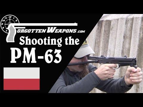 Polish PM63 Rak at the Range