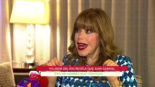 Yolanda del Río revela que Juan Gabriel era un hombre muy travieso