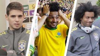 Copa90 Follows The Brazil National Team - Brazilian Flair Hits Europe!