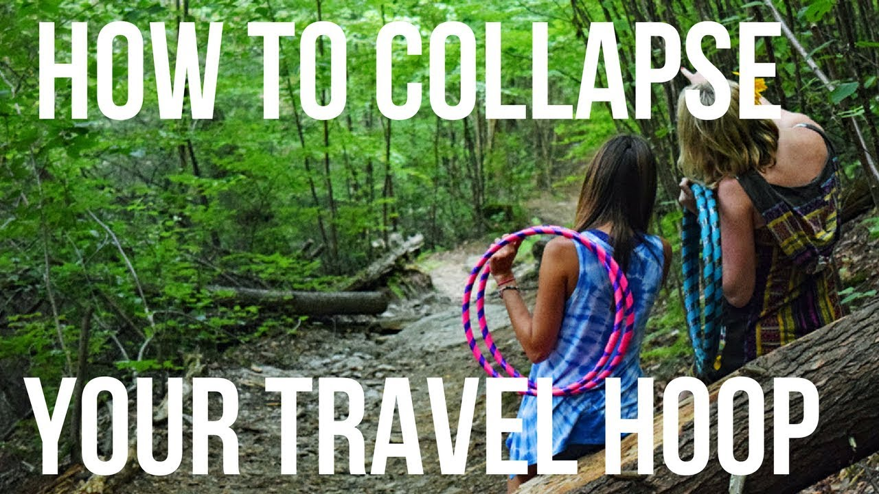 How to Collapse your Hipnotic Hoopla Travel Hoop