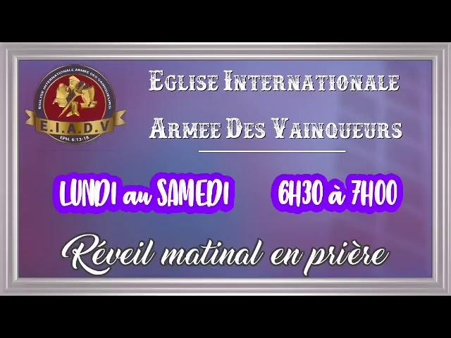 Prière matinale du 22/05/20 avec Pst. Oumar Sarr