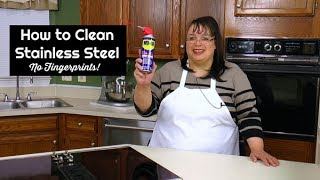 How to Clean Stainless Steel Appliances ~ Shiny and Fingerprint Free ~ Amy's Weekly Cooking Tips