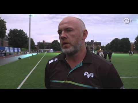 Ospreys TV in Belgium: Tandy post-match reaction