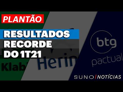 BANCO BTG PACTUAL (BPAC11) LUCRA NO 1T21 | HERING (HGTX3) COMPRA R$ 60 MI EM AÇÕES