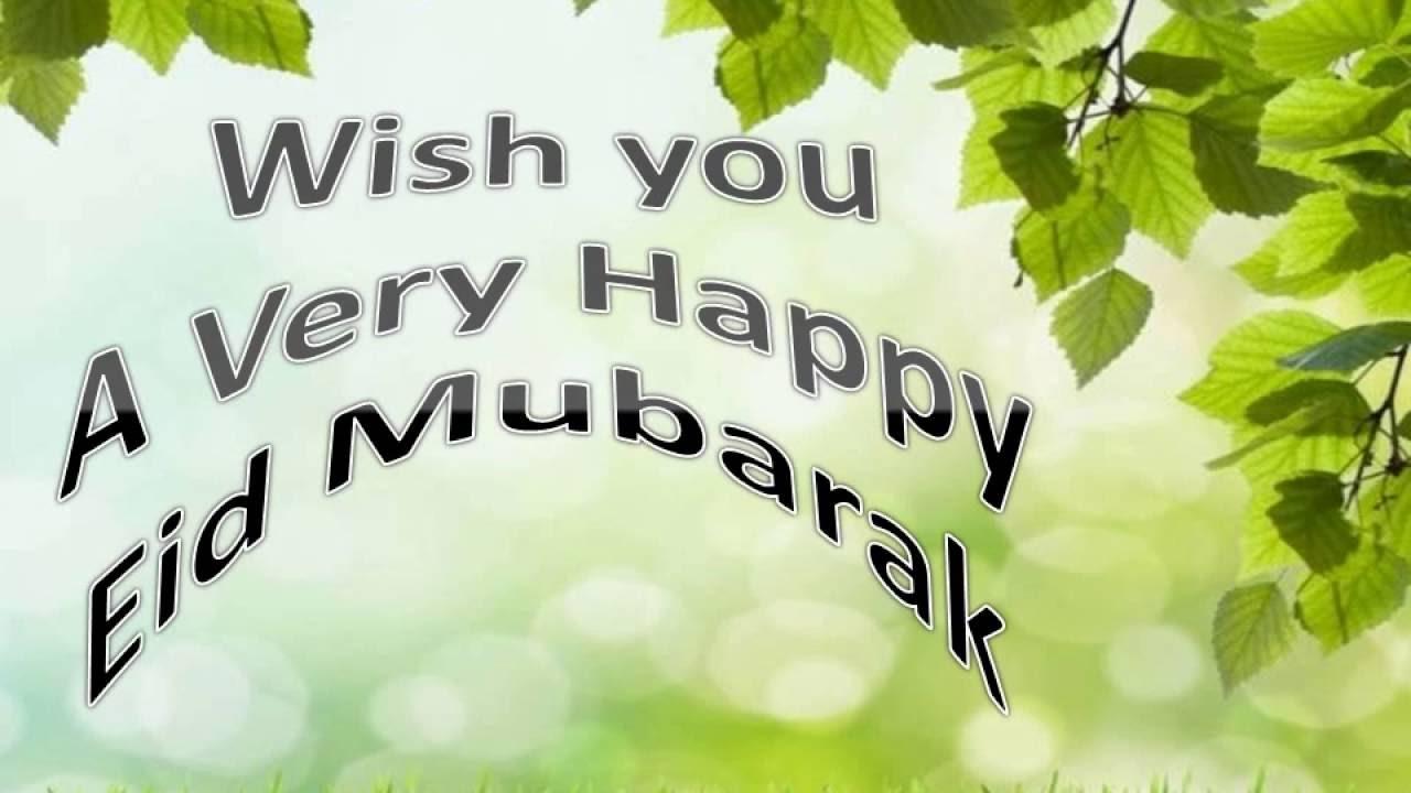 HAPPY EID Video IED Mubarak Greeting Koleksi Ucapan Hari Raya Idul