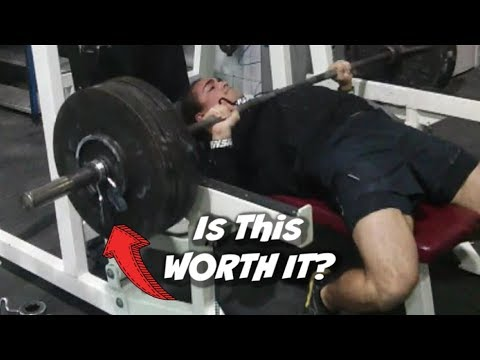 Why You SHOULD And SHOULDN'T Bench Press