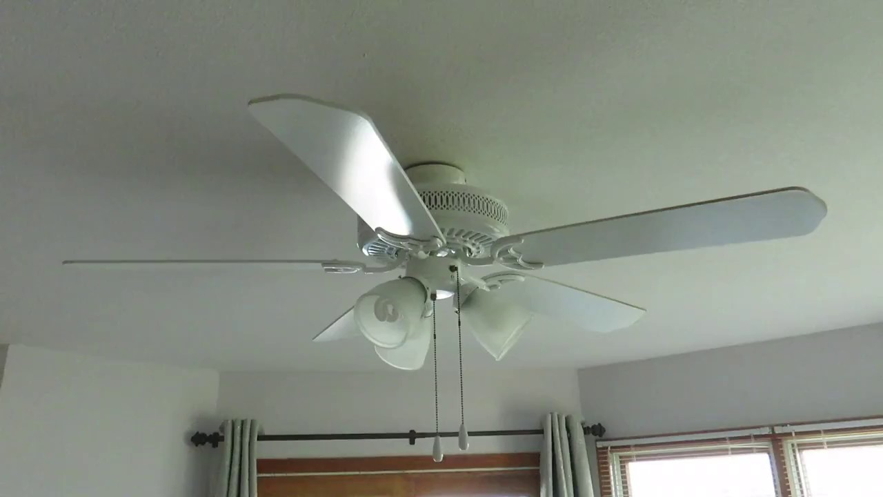 52 Quot Hampton Bay Landmark Iii Plus Ceiling Fan Youtube