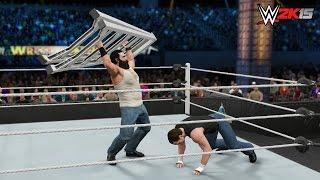 WWE 2K15 Wrestlemania 31 - WWE Intercontinental Championship Ladder Match!