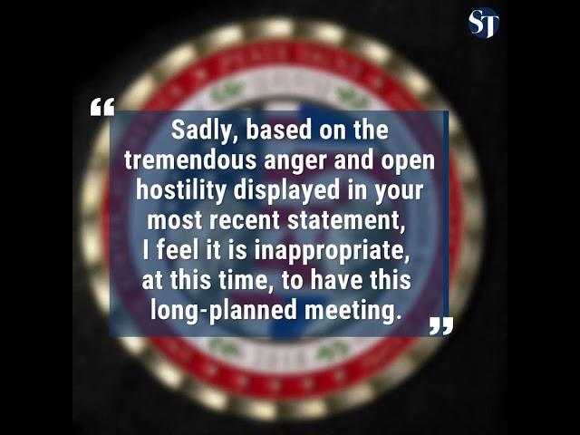 Trump Kim summit in Singapore cancelled