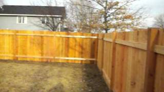 Cedar Board On Board Privacy Fence Maple Grove, Mn 612-281-0558