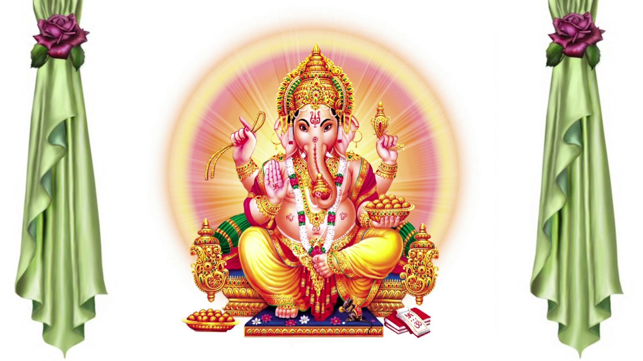 Wedding Background Ganesh Animation Free Hd Background God