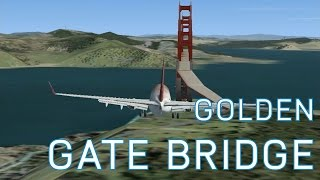 FSX On-Going Series - Episode 11 - Landing on the Golden Gate Bridge