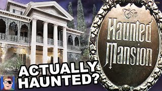 The Haunted History Of The Haunted Mansion