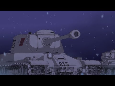 Girls und Panzer [AMV] Pravda- ☭The Red Army is the Strongest! (rock version)☭
