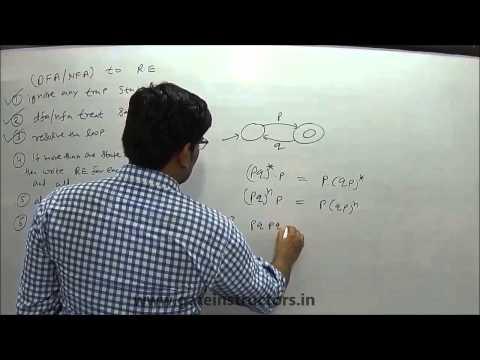 080 | Converting Finite Automata, DFA, NFA to Regular Expression | Automata Theory
