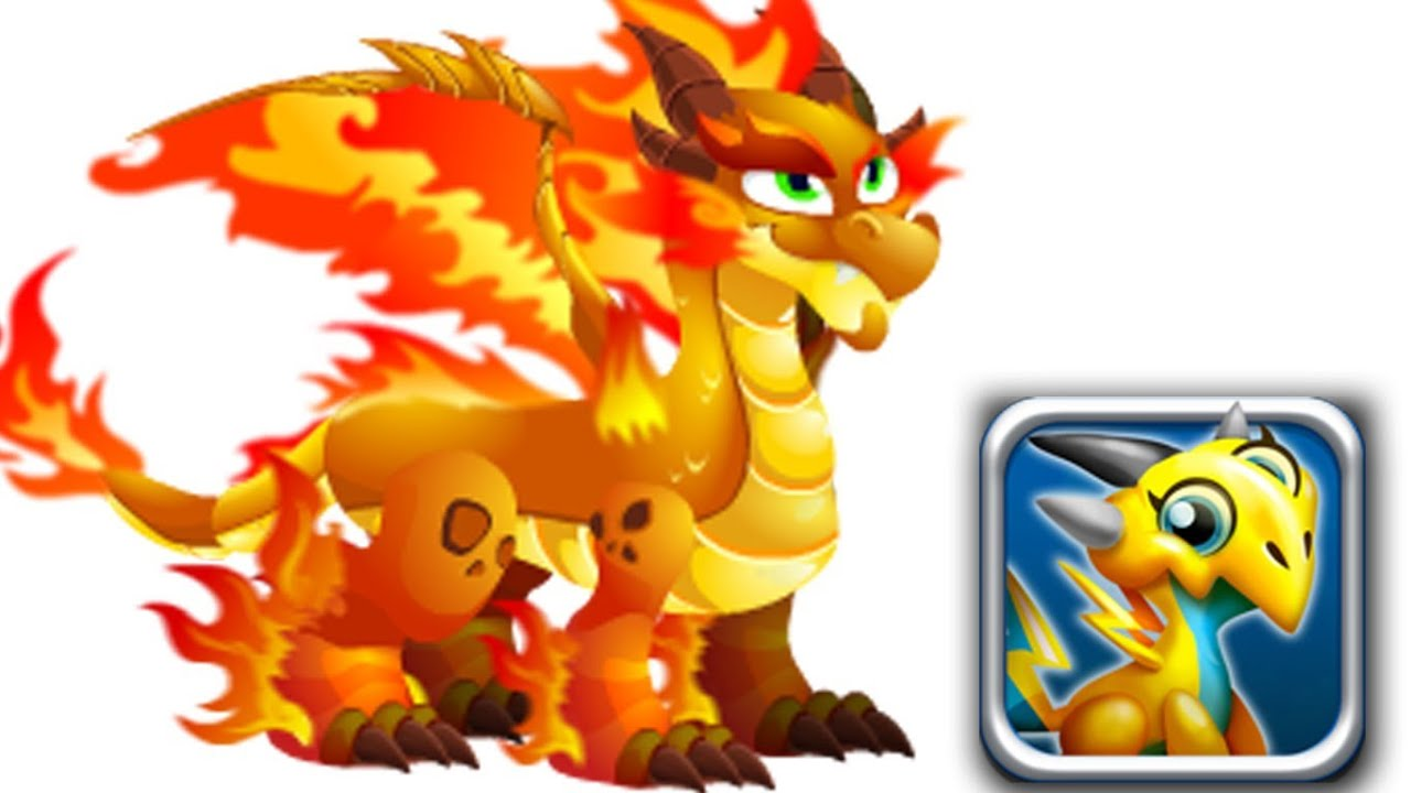 Fire Dragon City Dragon Double