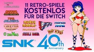 11 neue Retro-Spiele umsonst in der SNK 40th Anniversary Collection für Switch
