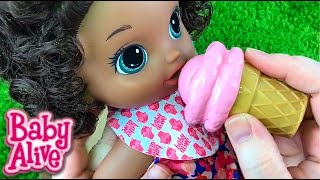 Baby Alive Magical Scoops Baby Doll Box Opening