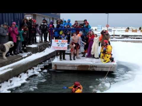 2016 Polar Bear Dip in Saugeen Shores
