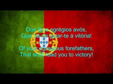 Portugal National Anthem English lyrics