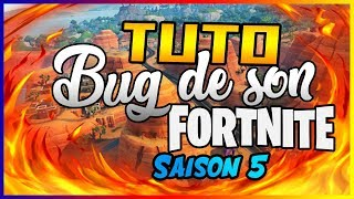 Résoudre le bug de son Fortnite!