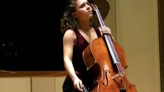 London Master Classes Young Master Concert 2011 - Chiara Enderle, cello (Switzerland)