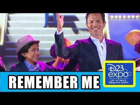 "Coco Cast Sing ""Remember Me"" At Disney Pixar D23 Expo"