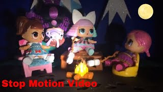 LOL Surprise! | Stop Motion Video | Camp Mickey | Featuring L.O.L. Surprise Under Wraps Dolls! 🙂