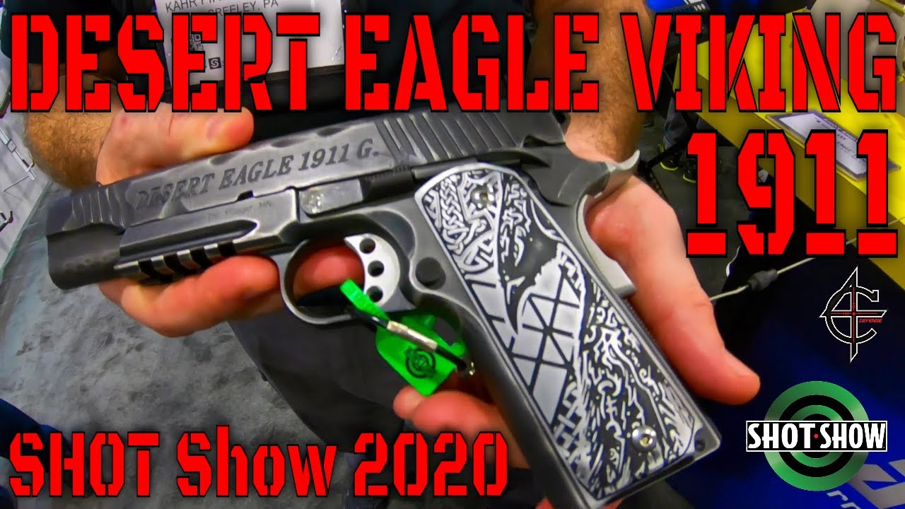 Desert Eagle Viking 1911 SHOT Show 2020