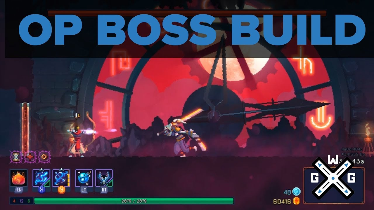 Op Dead Cells Build The Double Bow Build Foundry Update Youtube