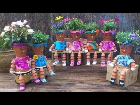 ابداع الانسان في الحدائق المنزلية * Human creativity in home gardens