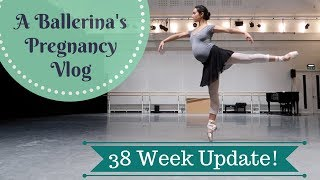 38 Weeks Pregnant- Dancing on a Building!  Another Growth Scan and CTG….+Belly Shot!
