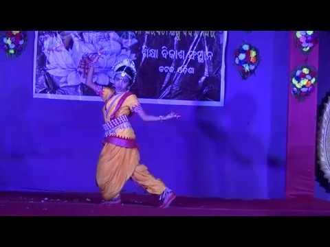 Ghungura dia bandhi Odissi dance