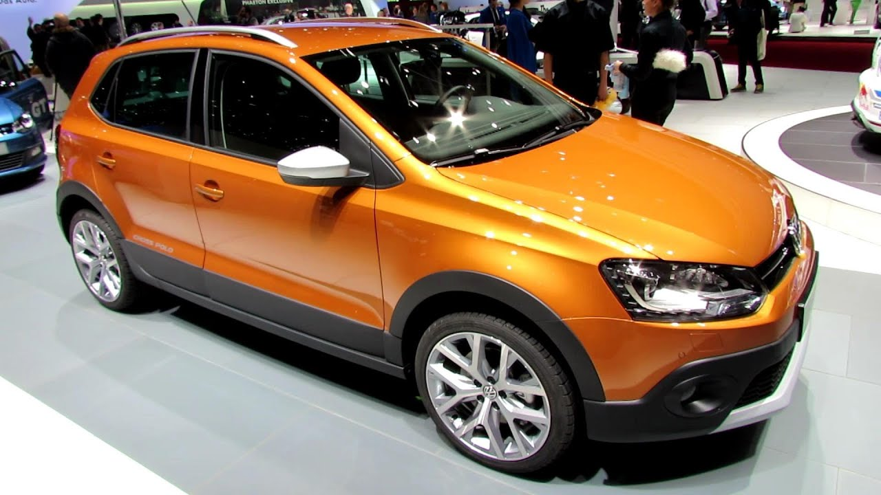 2015 volkswagen cross polo exterior and interior walkaround debut at 2014 geneva motor show. Black Bedroom Furniture Sets. Home Design Ideas