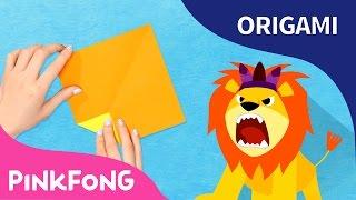 El León | Pinkfong Origami | Pinkfong Canciones Infantiles