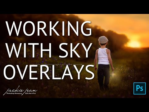 Working With Sky Overlays In Adobe Photoshop