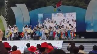 충북 풍물경연대회 음성군팀 풍물놀이