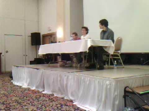 No Brand Con 2009 - Voice Actors Panel Part 1
