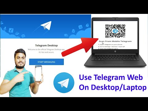 How To Use Telegram Web On Desktop/Laptop 2021 | How To Setup and Use Telegram On Computer, Laptop