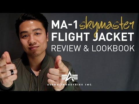 Alpha Industries MA-1 Flight Bomber Jacket Review/Lookbook 2017 | GENTLEMAN WITHIN