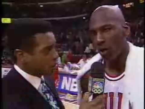 1992 NBA Finals Game 1- Shrug Game
