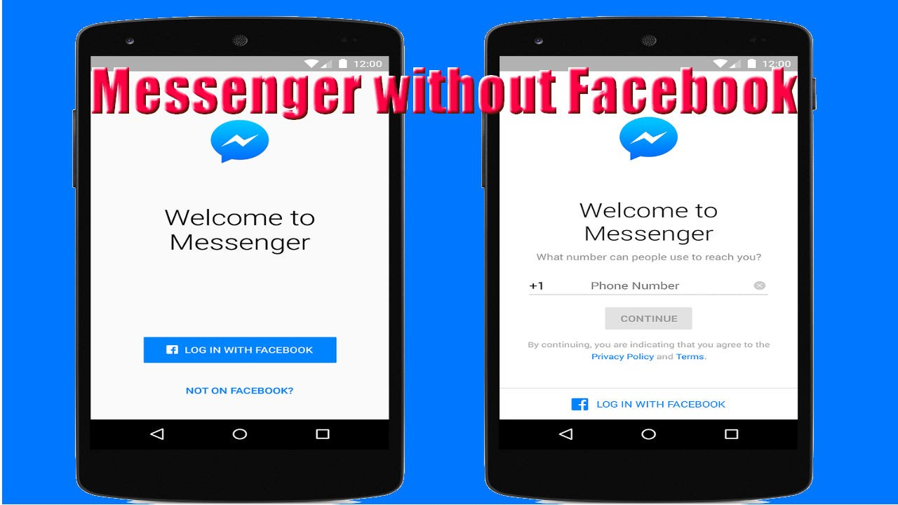 how to make a messenger account