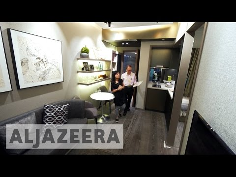 Micro flats tackle Hong Kong's high housing prices