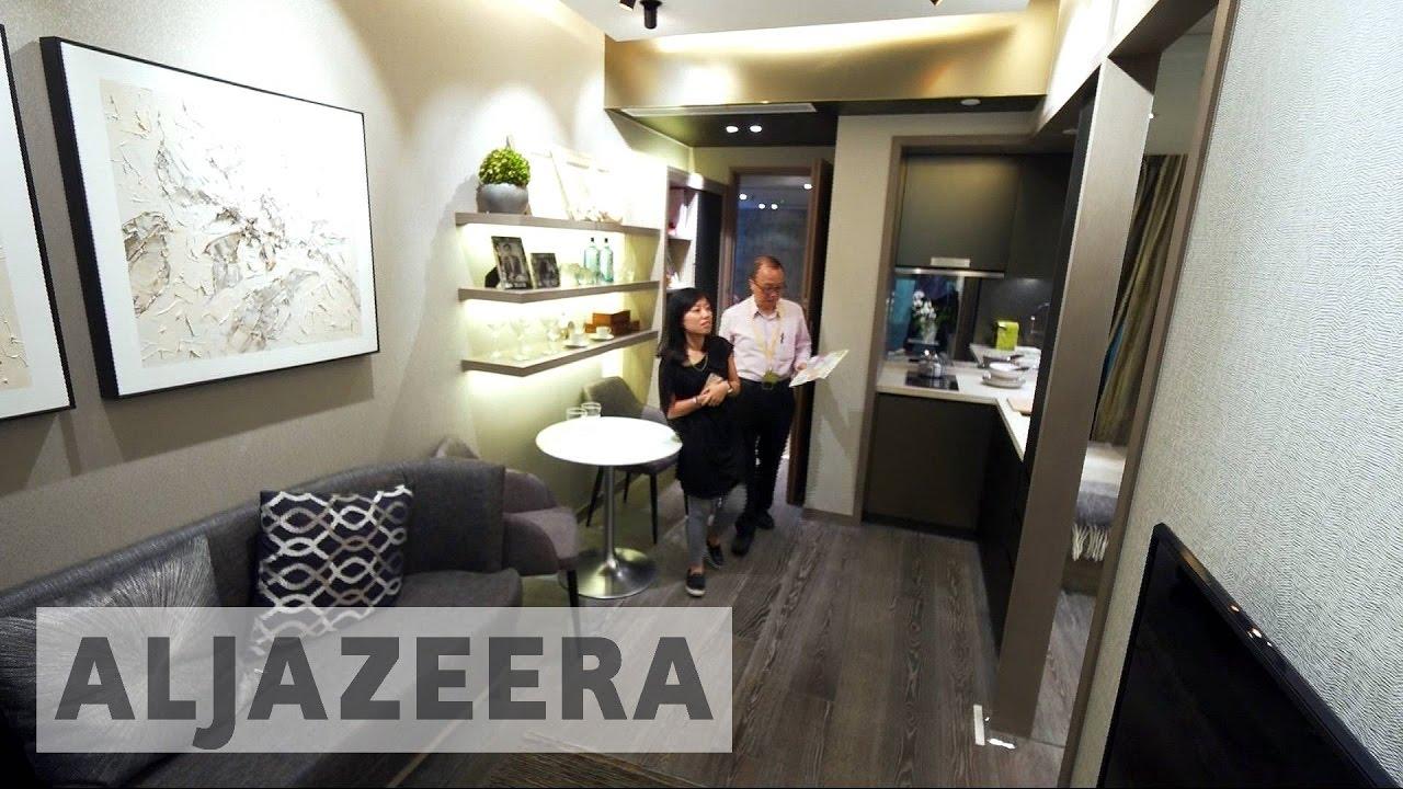 Micro flats tackle Hong Kongs high housing prices  YouTube