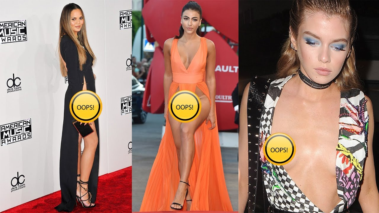 Top 20 Celebrity Wardrobe Malfunctions